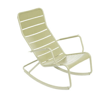 Fermob Luxembourg schommelstoel rocking chair willow green