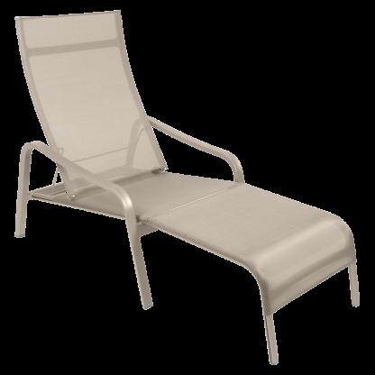 Fermob Alize loungestoel voetenbank