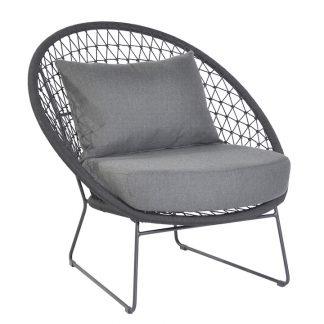 max en luuk nora lounge chair stoel lava rope