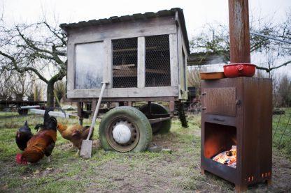 Weltevree Outdooroven pizzaoven oven cortenstaal
